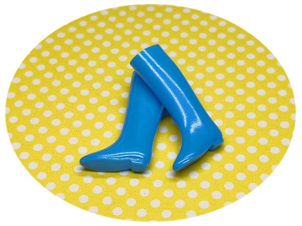 画像1: 【ブルー】 オリジナルブーツ (1)